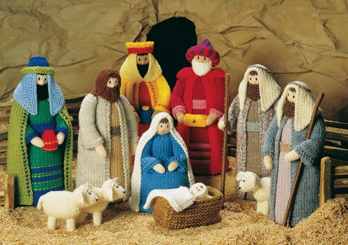 Christmas Nativity - free and custom stained glass patterns