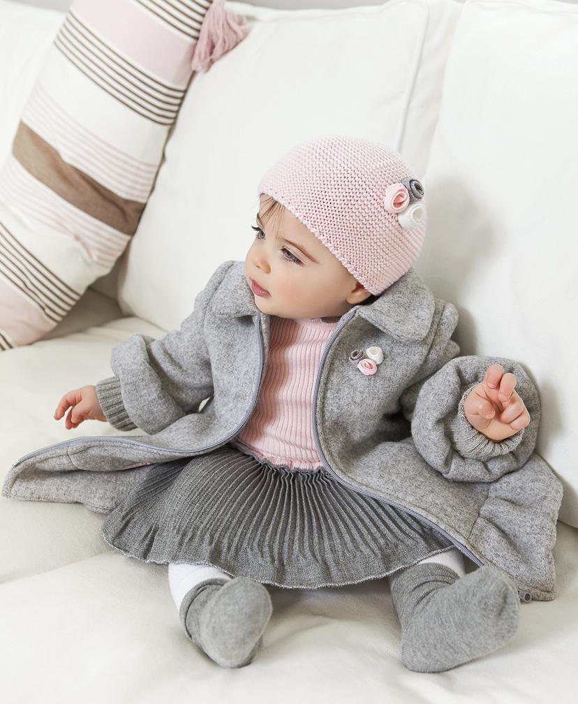 Vestido de rodar baby graziella outono inverno 2011 - Camitas para bebes ...