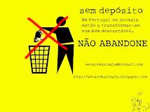 NÃO ABANDONE