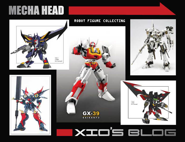 Mecha Head, Xiombarg's Blog