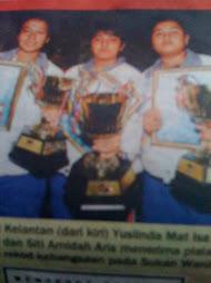 atlet Kelantan yg telah mewakili Malaysia pada temasya sukan SEA di Korat Thailand 2007