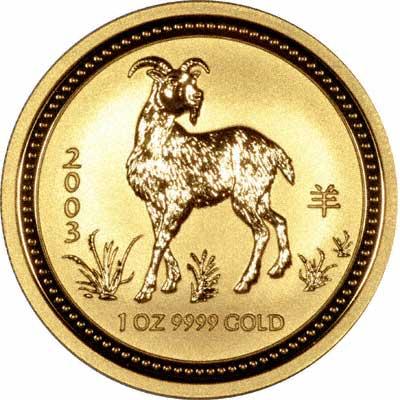 Emas dan kambing