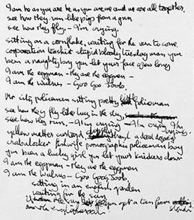 "In The Life Of...The Beatles: ""I Am the Walrus"" LyricsI'm The Walrus Lyrics"