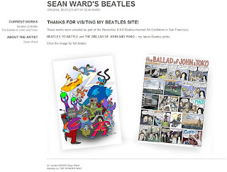 Original Beatles Art by Sean Ward