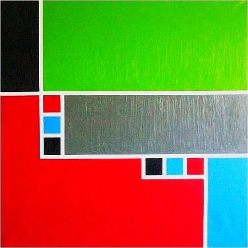 simple abstract paintings