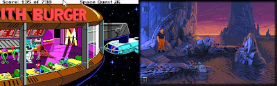 Space Quest 3 and The Dig