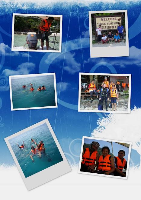 tenggol island trip