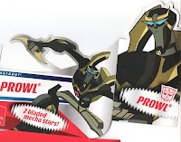 Animated Transformers Prowl