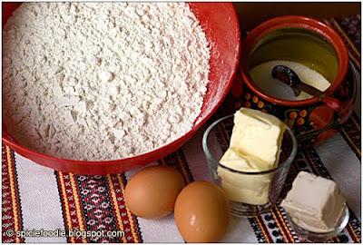 baking ingredients bread
