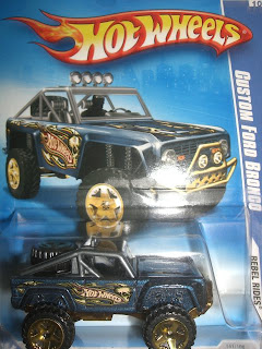Customize  Wheels on Id 0040 Produsen Hot Wheels Type Custom Ford Bronco Skala 1 64 Stock