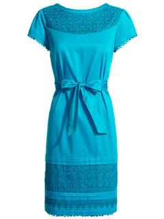 Vibrant Blue Dress