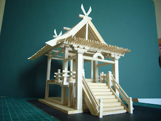 Japanese Traditional Architecture Model