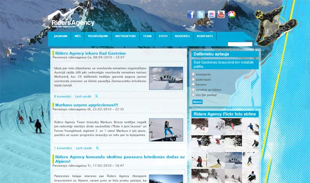Organizācija,Riders Agency, sabiedriska organizacija, snovbords, zils, snowboard