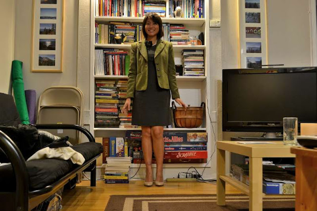 office fashion blogger the new professional gap outlet dress swapped merona tweed blazer enzo angiolini nude pumps piperlime urban outfitters two-finger ring j crew brooch pearls