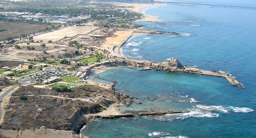 Caesarea Israel  City pictures : Erin's Adventures in Israel: Caesarea on My Mind