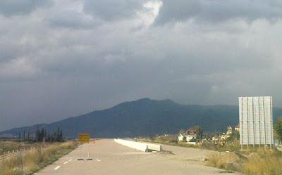 Από το τμήμα της Ιονίας Οδού στο Κεφαλόβρυσο.