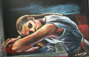Έκθεση ζωγραφικής του Αντώνη Ναστούλη.