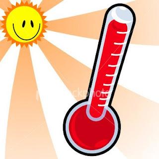 Στο κόκκινο η θερμοκρασία στο Αγρίνιο.
