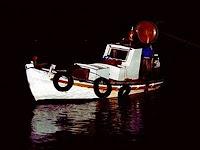 Ψάρευαν παράνομα στη λίμνη Τριχωνίδα.