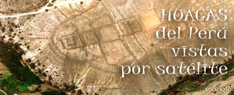 Huacas por satélite