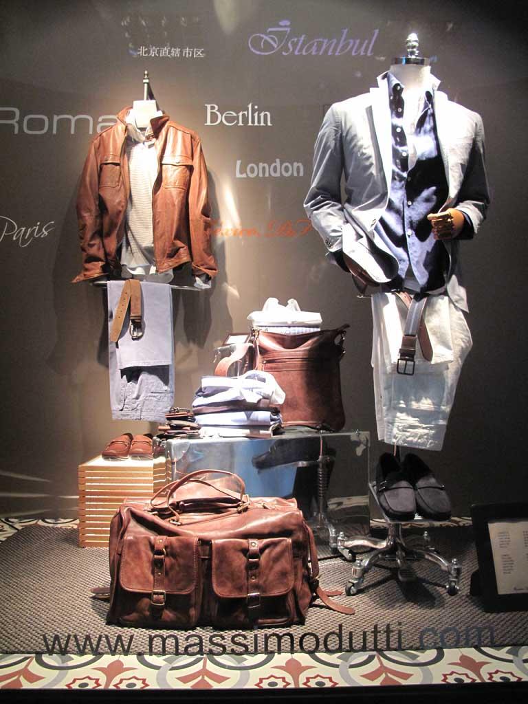 Massimo Dutti Abre Su Primera Boutique En Shanghai Suits Shirts # Muebles De Massimo Dutti