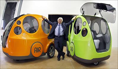 Пневмомобиль Airpod
