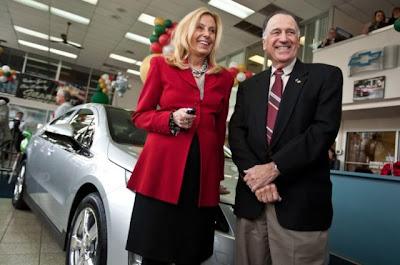 Продажи Chevrolet Volt