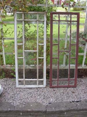 Gamla fönster blocket