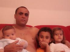 Minha Neta Karol,Lucas,Felipe e Meu Filho Salomão