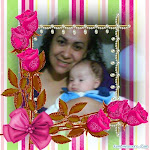 Minha filha amada, e meu neto Gabriel.