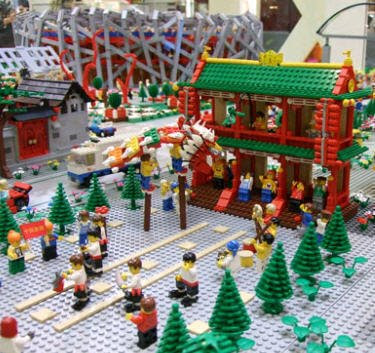 lego olympic village