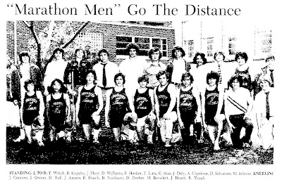 1977 Gloucester Catholic Track Team, one of schools best, also coached by Ross