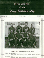 Long Distance Log with Browning Ross on cover