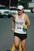 Tom Osler at start of one of his many races