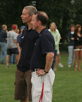 Cherokee Coaches Steve Shaklee and Chris Callinan