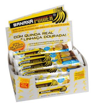 Banana Power com Quinoa Real e Linhaça Dourada!
