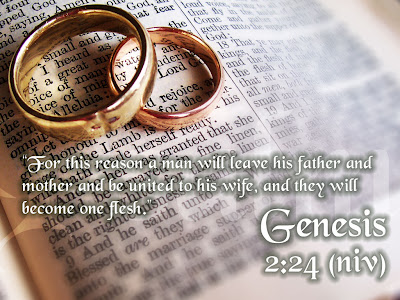 Genesis 2:24 | gay marriage | same sex marriage