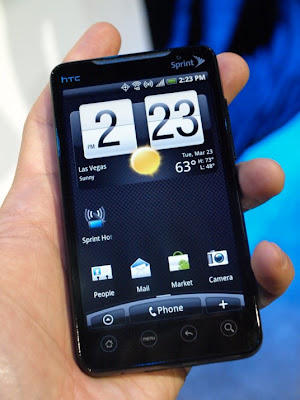 HTC EVO 4G - Sprint WiMAX HTC Supersonic
