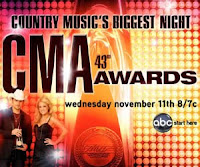 CMA Awards 2009 winners | 43rd CMA Awards 2009