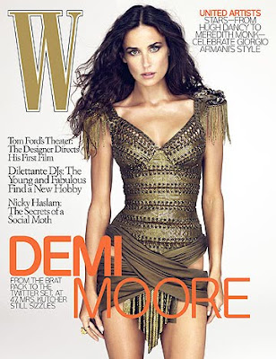 Demi Moore photoshop controversy