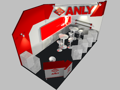 Trade Show Exhibit Booth Design - Anly