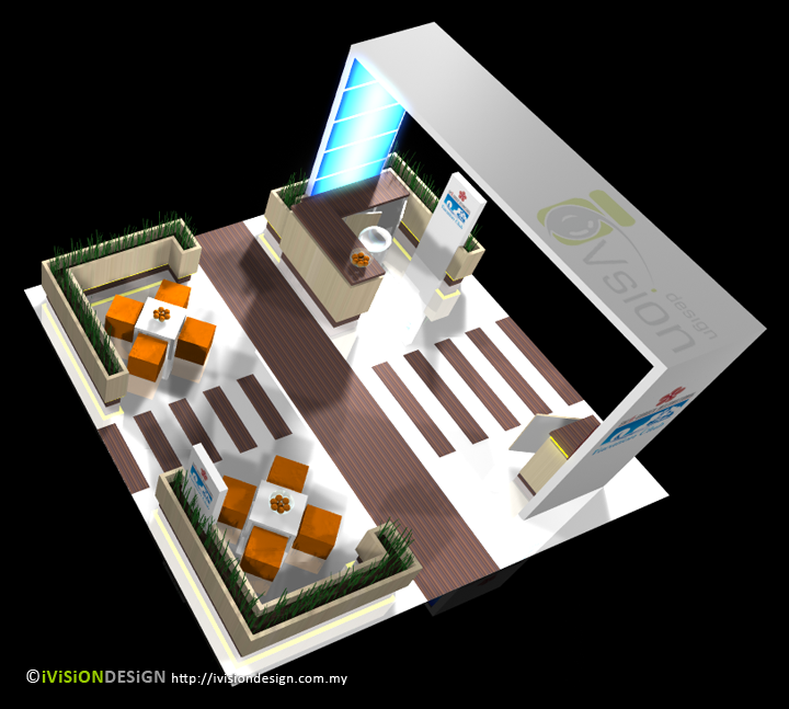 Exhibition Booth Layout : Exhibition booth design swiss garden ivision