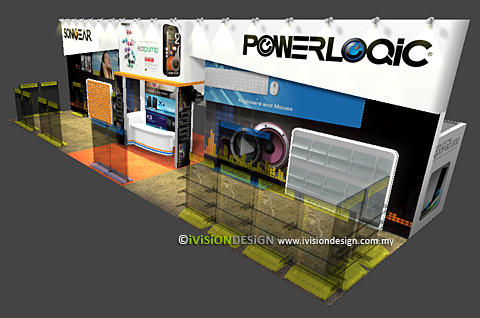 Exhibition Booth Design SonicGear