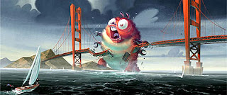 Artwork of Dreamworks' Monsters versus Aliens
