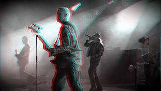 U2 3-D in anaglyph 3D