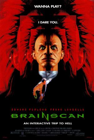Video Game exploitation cinema! Brainscan-1994-movie-poster