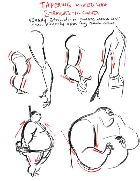 Posing, Silhouette, and Line of Action References – Animation Mentor ...