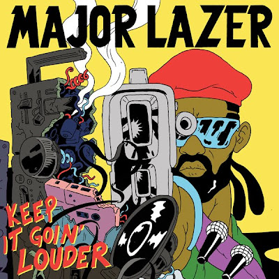 major lazer, keep it goin louder, nina sky, cover
