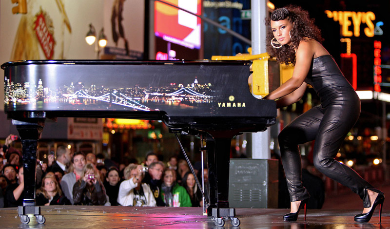 alicia keys, empire state of mind, video