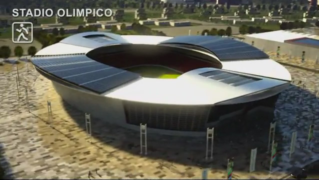 venezia 2020, olimpiadi, stadio olimpico